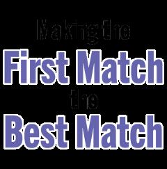 Tagline of FirstMatch